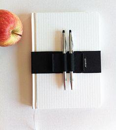 Journal Pen Holder, Pen Holder, Pen Bandolier, Elastic Band, Pen Loop For Planner, Planner Band, Moleskine Accessories, Back to school
