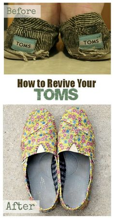 How to revive your TOMS Tutorial