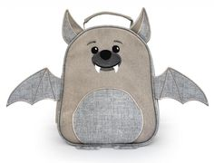coolest lunchboxes: bat lunchbag from recycled materials