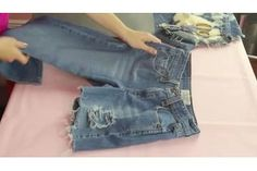 How to Make Frayed Cut-Off Jean Shorts (with Pictures) | eHow