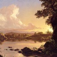 Frederic Church, Catskill Creek, 1847