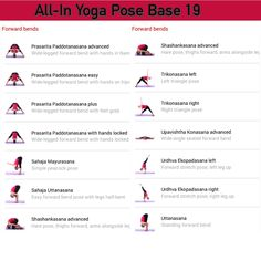 All-in Yoga pose base page 19