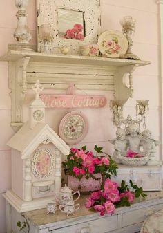 vintage pink romance...