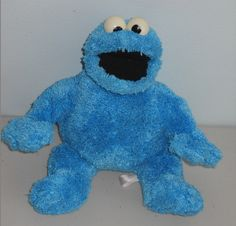 Sesame Street Cookie Monster Stuffed Toy