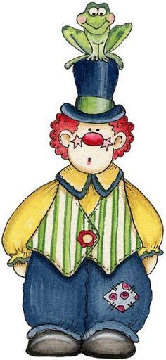 art deco clown coloring pages - photo#32