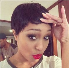 Learn about all the latest hair styles in one place! Visit the Hair Trend spot at Highlights Hair and get all the details on hot new hair styles Latest Hairstyles, Pixie Hairstyles, Hair 2018, Celebs, Celebrities, Hair Highlights, Pixie Cut, Hair Trends, New Hair