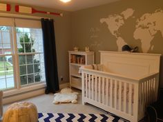 We recently received a beautiful shot of our new Chesapeake Full Panel Crib in white from our friends at Treasure Rooms! Check out how this family used the Full Panel from our popular Chesapeake line with beautiful red, blue, and grey accents to highlight their son's nursery! What a wonderful use of space and decor. Congratulations to the new parents. Well done!