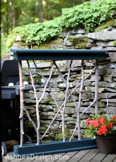 Ashbee Design: Hide That Grill • DIY Grill Screen
