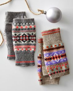 1000+ images about Fair isle mitten patterns/charts on Pinterest Mittens, M...