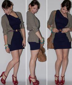 Estou há bastante tempo com vontade de usar o estilinho vestido + cardigan com cinto por cima. Também venho namorando um vestido de um ombro só que está ali no meu armário mas que não uso a muito tempo. Decidi juntar as duas vontades no look de hoje!   http://lucianalevy.com.br/look-dia-como-usar-um-ombro-blog-moda/