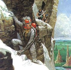 Nice Comic Art of Don Lawrence - I.D. 75 - SloDive