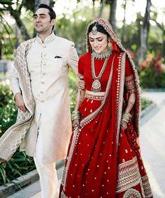 Always wanted to know - how much does Anushka Sharma and Deepika Padukone Lehenga Cost? Wedding lehenga prices revealed in this post. Designer Bridal Lehenga, Wedding Lehenga Designs, Indian Bridal Outfits, Indian Bridal Fashion, Indian Dresses, Sabyasachi Lehenga Bridal, Indian Bridal Lehenga, Anarkali, Bridal Lehnga Red