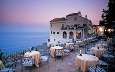 Imaging eating here with that view ! Hotel Caruso Ravello in Italy