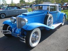 1931 Cord: The first American car with front-wheel-drive, the Cord was an engineering marvel in many other ways
