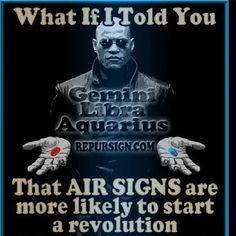 #ShareIG #Zodiac #zodiacsign #gemini #teamgemini #thetwins #redpill #bluepill #revolution #geminirevolution Gemini And Sagittarius, Blue Pill, Water Signs, Word 3, Fire Signs, Revolutionaries, Horoscope, Zodiac Signs, Instagram Posts