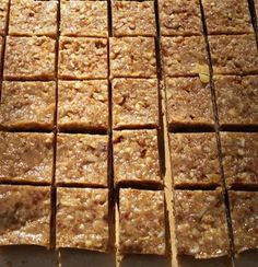 This is a favorite SCD protein bar or cut bite sized candy pieces perfect for snacking. The recipe uses a food processor and no baking is required! Granola Bars Peanut Butter, Coconut Peanut Butter, Cashew Butter, Coconut Oil, How To Eat Paleo, Food To Make, Apple Nutrition Facts, Healthy Deserts, Healthy Snacks