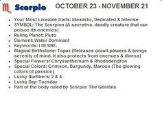 11 Best Scorpio images in 2012   Scorpio facts, Scorpio girl