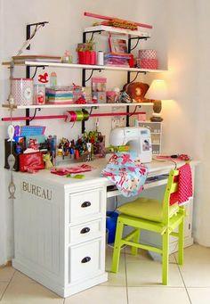 {.BS.} - Bendito Scrap - Porque fazer Arte faz Bem!: Inspiração: Home Office!