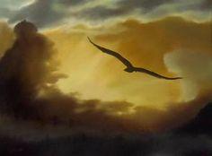 'High', 60X80cm, oil on canvas by ΑγγελικΗ