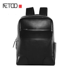 1c98d8132d6f AETOO New leather men s shoulder bag high end full size men s travel  shoulder bag casual boys travel bags-in Backpacks from Luggage   Bags on  Aliexpress.com ...