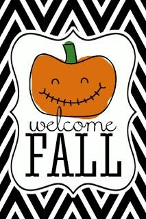 Welcome Fall wallpaper