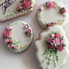 Mother's Day Cookies, Fancy Cookies, Valentine Cookies, Iced Cookies, Cute Cookies, Easter Cookies, Sugar Cookies, Fondant Cookies, Cookie Frosting