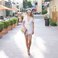 0a003260777 100 Style Tips  How To Wear Rompers In Summer