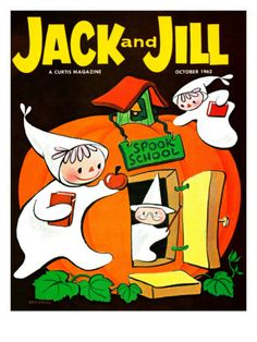 Spook School - Jack and Jill, October 1962 Giclee Print