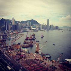 View from Harbour Grand Hotel, Hong Kong