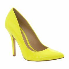 zapatos aldo amarillos