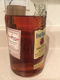 Bourbon/Rye Review #27: Four Roses West Hartford CT Total Wine Private Select OBSK #bourbon #whiskey #whisky #scotch #Kentucky #JimBeam #malt #pappy