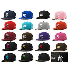 New era #59fifty #fitted cap new york #yankees ny mlb basic 5950 hat (all colours,  View more on the LINK: 	http://www.zeppy.io/product/gb/2/111983367678/