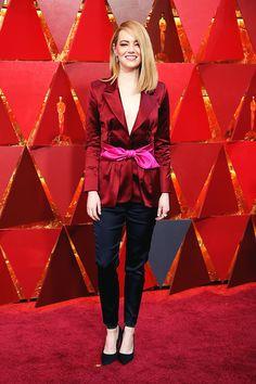 EMMA STONE 90th Academy Awards, Los Angeles   March 4, 2018
