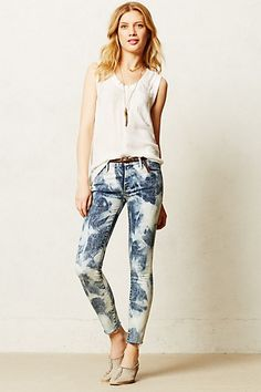 Mother Looker Fray Jeans #anthropologie