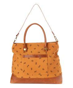Cool bag, love the bicycle motif.