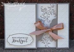 Hochzeit Timeless Texture Stempelset, Anhängerstanze und Prägeform Herz von Stampin' Up! KreativStanz #wedding #timelesstexture