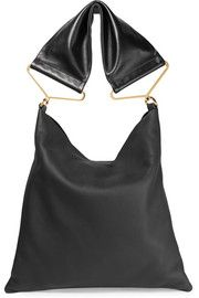 MarniMaxi Strap textured-leather tote
