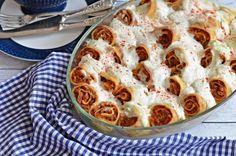 Isteni, tepsis húsos palacsinta – Rupáner-konyha Hungarian Recipes, Best Chicken Recipes, Apple Pie, Macaroni And Cheese, Paleo, Good Food, Dinner Recipes, Goodies, Food And Drink