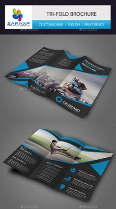 Corporate Tri-fold Brochure Template PSD #design Download: http://graphicriver.net/item/corporate-trifold-brochure/14314239?ref=ksioks