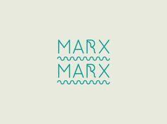 Marx Marx by MARK NIEMEIJER, via Behance nice logo