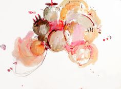 Spun Sugar Venom, mixed media on paper | ALISON COOLEY