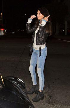Kendall Jenner in PAIGE Denim Cara Zip in Runaway