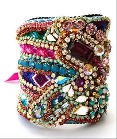 Custom Diamonds are a Girls Best Friendship Cuff, Delores Petunia  ~LOVE HER JEWELRY!!!!~