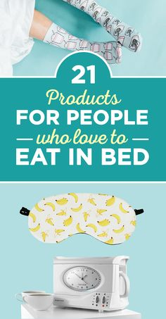 21 Products For People Who Love To Eat In Bed