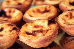 Pastéis de nata produzidos na fábrica dos Pastéis de Belém