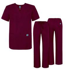 9ed049eef734 eBay  Sponsored Adar Medical Uniforms Unisex Doctor Nurses Scrub Set Top   amp  Pants