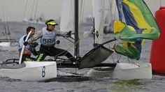 samuel albrecht = isabel swan - Rio 2016, sailing