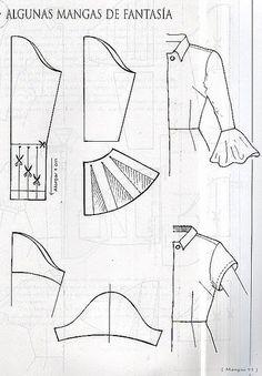 طريقة تفصيل الكم ،تفصيل الكم بأنواعه لفساتين،تفصيل الكم مع البترونات - منتدى خياطة