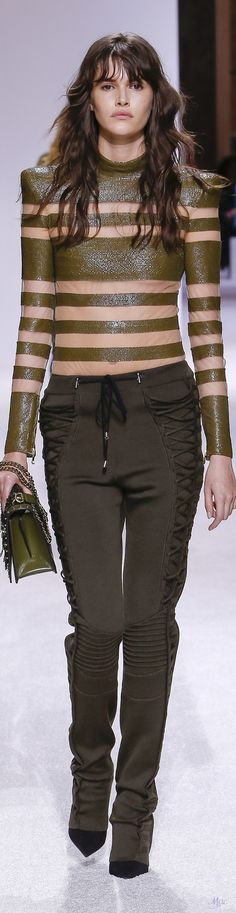 Fall 2018 RTW Balmain (Menswear Collection)