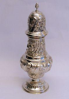 Silver Sugar Caster, Chester 1903